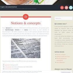 Notions & concepts – Capes documentation