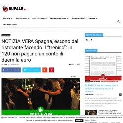 """NOTIZIA VERA Spagna, escono dal ristorante facendo il """"trenino"""": in 120 non pagano un conto di duemila euro"""