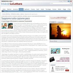 Notizie di libri e cultura del Corriere della Sera