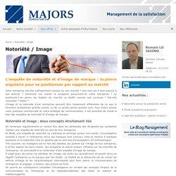 Notoriété / Image - Majors Consultants