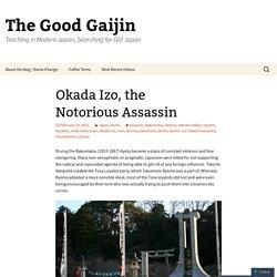 Okada Izo, the Notorious Assassin