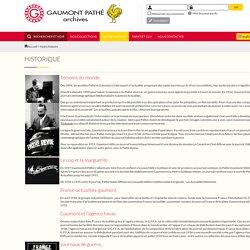 Gaumont Pathé Archives : Notre histoire