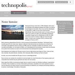Notre histoire - Technopolis Group