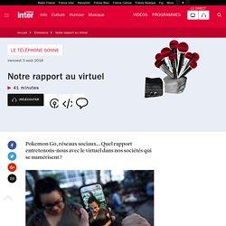 Notre rapport au virtuel