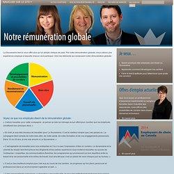 Notre rémunération globale