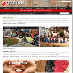 Notre société - Cuir en Stock