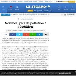 Nouméa: pics de pollution à répétition