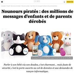 Nounours piratés : des millions de messages d'enfants et de parents dérobés