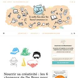 Nourrir sa créativité : la méthode des 6 chapeaux de De Bono