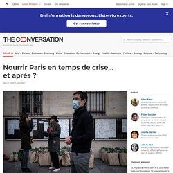 Nourrir Paris entemps decrise… etaprès?