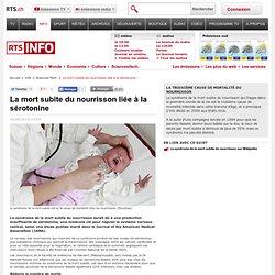 Info - La mort subite du nourrisson liée à la sérotonine