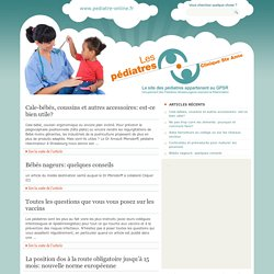 Pediatre-online.fr : Nourrissons