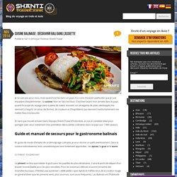 Nourriture à Bali : découvrir la cuisine balinaise