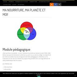 Ma nourriture, ma planète et moi! - Incr'éduc - Le site de l'Incroyable éducation - Incr'éduc – Le site de l'Incroyable éducation