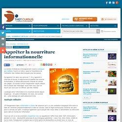 Apprêter la nourriture informationnelle