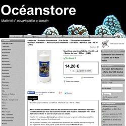 Nourriture pour invertébrés - Coral Food - Marine de luxe - 500 ml - (H&S) - Océanstore