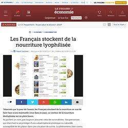 Les Français stockent de la nourriture lyophilisée