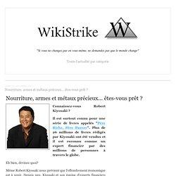 Nourriture, armes et métaux précieux... êtes-vous prêt ? - wikistrike.over-blog.com