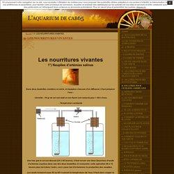 n- LES NOURRITURES VIVANTES · L'aquarium de cab65