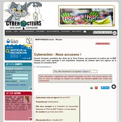 Nous accusons ! cyberaction