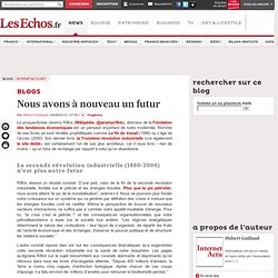 Nous avons à nouveau un futur - Blogs InternetActu.net