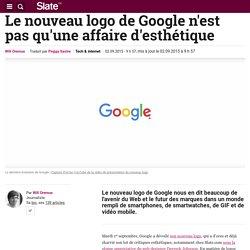 Le nouveau logo de Google n'est pas qu'une affaire d'esthétique