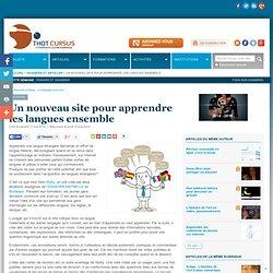 Un nouveau site pour apprendre les langues ensemble