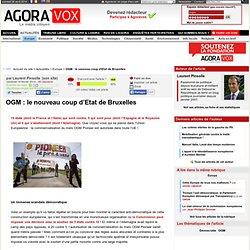 OGM : le nouveau coup d'Etat de Bruxelles