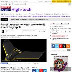 Parrot lance un nouveau drone dédié à la cartographie - 25 février 2014
