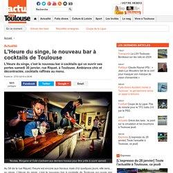 L'Heure du singe, le nouveau bar à cocktails de Toulouse