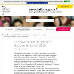 Le nouveau plan comptable à l'horizon 1er janvier 2020