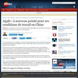 Apple : à nouveau pointé pour ses conditions de travail en Chine - ZDNet