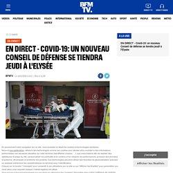 EN DIRECT - Covid-19: un nouveau Conseil de défense se tiendra jeudi à l'Elysée