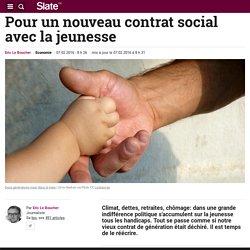 Pour un nouveau contrat social avec la jeunesse