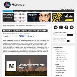 Medium, le nouveau site des créateurs de Twitter