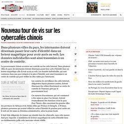 Nouveau tour de vis sur les cybercafés chinois