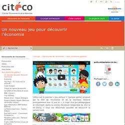 Cit€co, un jeu d'économie pour les + de 15 ans