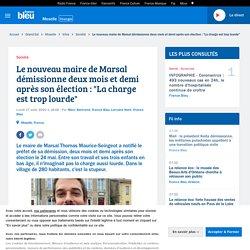 """Le nouveau maire de Marsal démissionne deux mois et demi après son élection : """"La charge est trop lourde"""""""