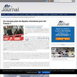 Un nouveau plan de départs volontaires pour Air France ?