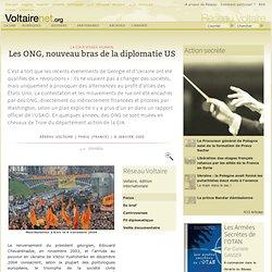 Les ONG, nouveau bras de la diplomatie US