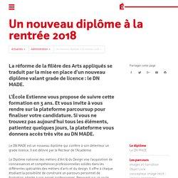 École Estienne / Paris