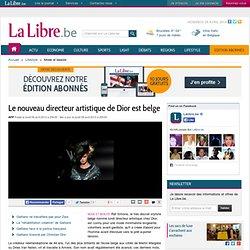 Le nouveau directeur artistique de Dior est belge
