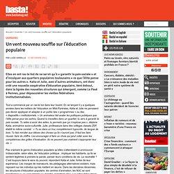 Un vent nouveau souffle sur l'éducation populaire - Coopératives