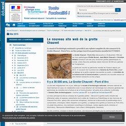 Le nouveau site web de la grotte Chauvet