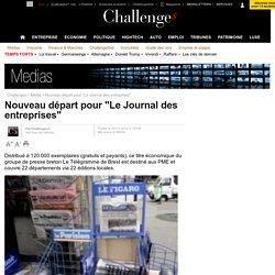 """Nouveau départ pour """"Le Journal des entreprises"""" - 29 novembre 2010"""