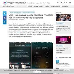 Vero : le nouveau réseau social qui n'exploite pas les données de ses utilisateurs