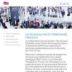 Un nouveau pacte ferroviaire français