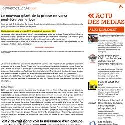 L'actu media web - La Voix du Nord et La Montagne confirment leur union