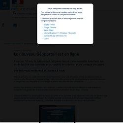 Le nouveau Géoportail est en ligne - Actualités - Géoportail