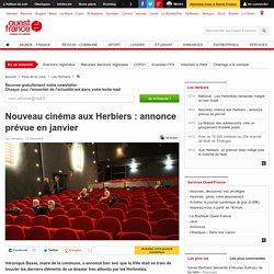 Nouveau cinéma aux Herbiers : annonce prévue en janvier